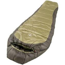 Coleman 0°F Mummy Sleeping Bag for Big and Tall Adults | No