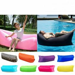 Air Sofa Inflatable Lounger Bed Lazy Chair Outdoor Sleeping