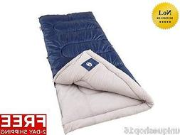 COLEMAN BRAZOS COLD WEATHER LIGHT SLEEPING BAG OUTDOOR CAMPI