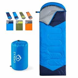 Camping Sleeping Bag, Warm & Cool Weather, Waterproof for s