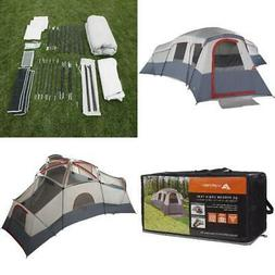 Camping tent 4-Room Base Cabin Outdoor Separate 20 Person Sl