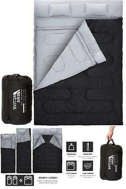 Cold Weather Sleeping Bag Double 2 Person Two 0 Degree Light