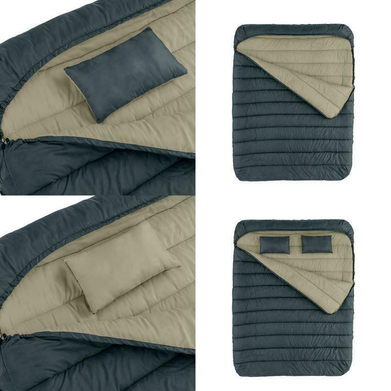 cold weather sleeping bag 2 person queen