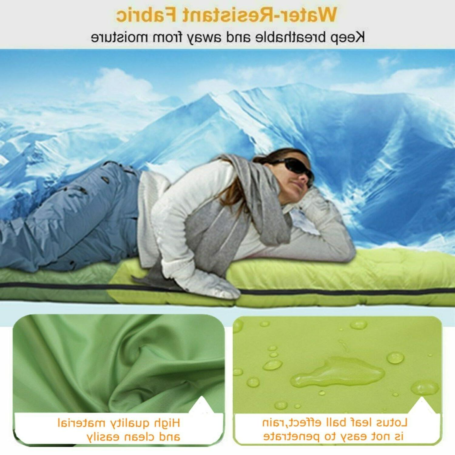 3 Camping Hiking Outdoor Envelope Sleeping With