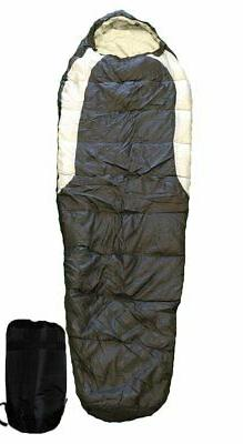 OMNI Adult Mummy Type Camping Sleeping Bag with Carrying Cas