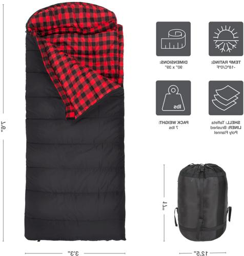 xxl sleeping bag camping outdoors compression 101r