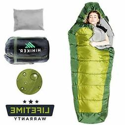 HiHiker Mummy Bag Travel Pillow w/Compact Compression Sack 4