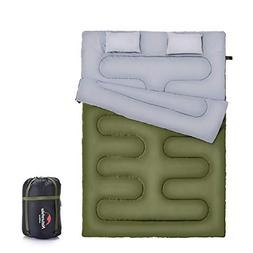 Naturehike Double Sleeping Bag for Backpacking, Camping, Or