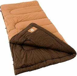 NEW Coleman Dunnock Cold Weather Camping Adult Sleeping Bag