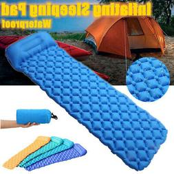 Inflatable Air Mattress Outdoor Tent Mat for Camping Travel
