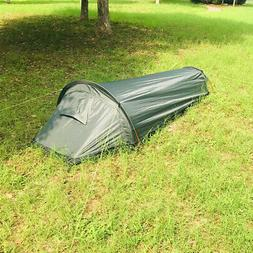 Outdoor Camping Tent 1 Person Sleeping Bag Shelter with Avia