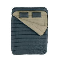 queen sleeping bag with pillow camping outdoor
