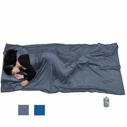 """Browint Silk/Cotton Travel Sheet with Double Zippers 87""""x43"""""""