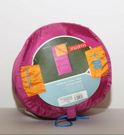Youth Sleeping Bag 50 Degree Very Berry Embark made in USA